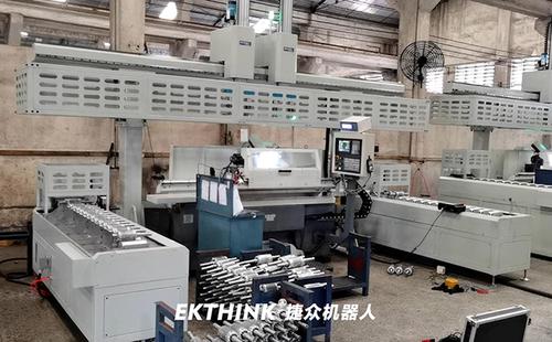 重载桁架机械手,电机转子自动加工