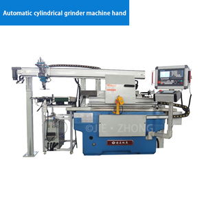 Automatic cylindrical grinder machine hand