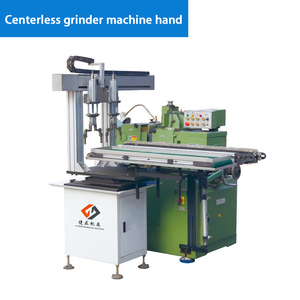 Centerless grinder machine hand
