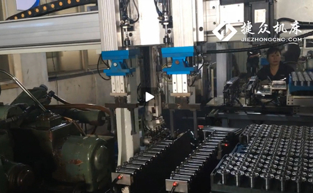 无心磨床机械手工作视频