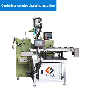 Centerless grinder charging machine
