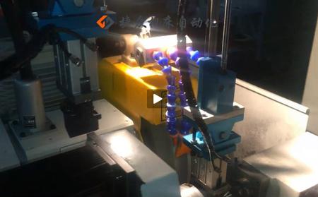 外圆磨床双排机械手-外圆磨床视频