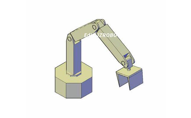 简易机械手 一个简单且易于操作的机械手臂