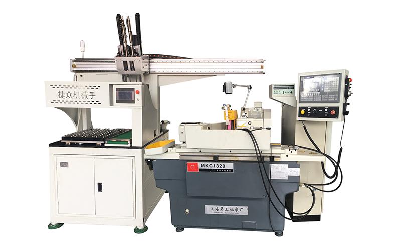 上海外圆磨床工业机器人机械手