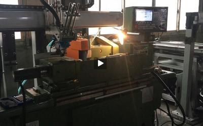 自动外圆磨床机械手视频