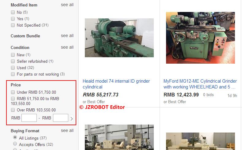 ebay外圆磨床价格