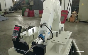 自动上下料的关节式机械手优点先容以及国内关节机械手技术性能优点