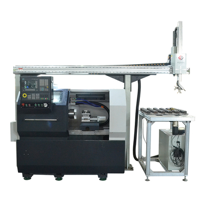 数控车床机械手,数控车床送料机
